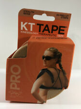 KT Tape Pro Synthetic (Pre-cut 20 strips) Stealth Beige Elastic Sports Tape