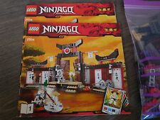 Lego Ninjago Trainingscenter 2504 Spinjitzu Trainingszentrum komplett m. Figuren