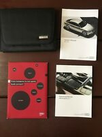 2017 Audi A7 Owners Manual With Case And Navigation OEM Free Shipping