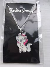 Hello Kitty Marie Cat Child's Necklace, Pink White