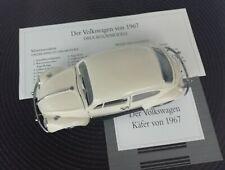 Franklin Mint: VW Käfer von 1967 1 24  guter zustand.