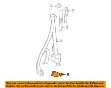 TOYOTA OEM 01-03 RAV4 Front Seat Belt-Buckle Right 7323042080B0