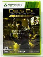 Deus Ex: Human Revolution Director's Cut - Xbox 360 - Brand New | Factory Sealed