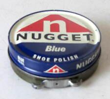 NUGGET BLUE -SCATOLA LATTA  LUCIDO DA SCARPE/SHOE POLISH - ANNI 60/70