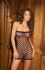 Triple Diamond Seamless Bandeau Mini Dress, Elegant Moments, 8-12, Sexy Lingerie