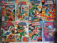 All Star Squadron (DC 1981) #6-13 Hawkman Green Lantern Wonder Woman Belle +++