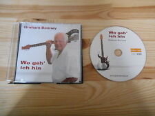 CD Schlager Graham Bonney - Wo geh' ich hin (1 Song) MCD DOLLYWOLF MUSIC