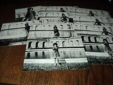 SHEILA LOT DE PHOTOS FORMAT 10*15 N&B - THEME 031 CHATEAU - 10 PRISES