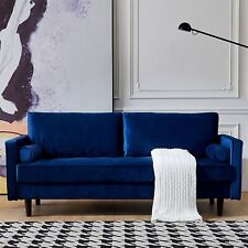 Living room Velvet Sofa Set Armchair Chair Couch Furniture Mid-Century Modern