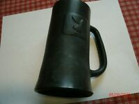 Vintage 1960's Playboy Bunny Gray Frosted Beer Drink Mug