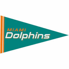 Miami Dolphins Football Vintage Sports Pennants and Flags