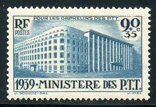 STAMP / TIMBRE DE  FRANCE NEUF  N° 424 * PARIS LE MINISTERE DES PTT COTE + 22 €