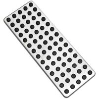 Steel Footrest Foot Rest Dead Pedal Pad Cover for Mercedes Benz A B C E S  X6B8