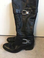 Kelly & Katie Jadine Black Tall Boots Size 7.5