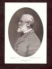 General Robert E Lee Portrait Vintage Oval Print