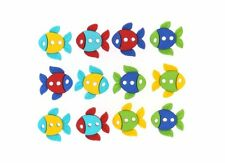 Sew Cute Fish Novelty Buttons Jesse James Theme Pack
