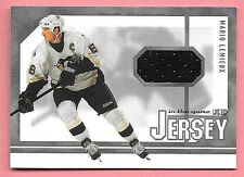 03/04 In The Game Used Signature Series #24 Mario Lemieux Jersey Card SP/80