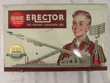 Vintage A.C. Gilbert Erector Set 1959 Rocket Launcher Set 50th Anniversary 10053