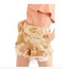 Women's Free People Commander Cutoff Camo Shorts - Desert Combo