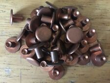 NOS Copper Rivets for Brooks Ideale Leather Saddle Parts Repair Rebuild Re-cover