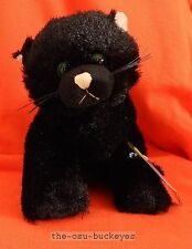 "Ganz WEBKINZ 9"" Halloween BLACK CAT Stuffed Animal Sealed Unused Code Free Ship"