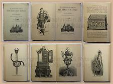 Chronologische Sammlung der Dänischen Könige Schloss Rosenburg 1888 Dänemark xz
