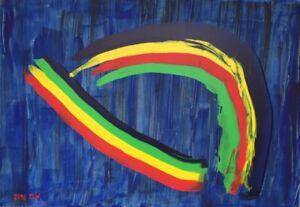 ORIGINAL Acryl Gemälde HANDGEMALT Modern Malerei  ca. 100 x 70 x 3,5 cm