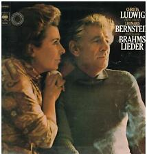Brahms: Lieder / Christa Ludwig, Leonard Bernstein - LP