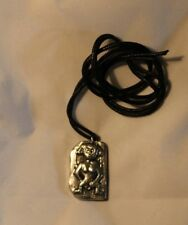 Hand Made - Book of Kells Silver & Pewter Celtic Pendant -