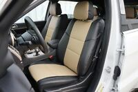 JEEP GRAND CHEROKEE 2011-2019 IGGEE S.LEATHER CUSTOM FIT SEAT COVER 13 COLORS
