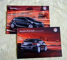 Vauxhall New Astra Mk6 Range Highlights & Price Guide September 2009