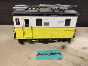 LGB 22460 Zahnrad - E-Lok HGe 2/2 4 Gelb - Weiß