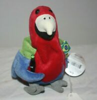 Barrot the PARROT BRAZIL Coca Cola 1999 International Beanie Plush Collectible