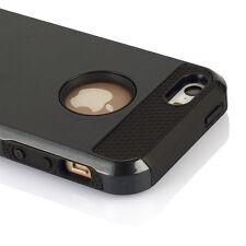 Hybrid Rugged Rubber Hard Shockproof Case Cover Skin for Apple iPhone 5 5S SE