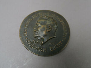 Bronzemedaille 1925 Benno Elkan ca 6,3 cm Ø datiert und signiert