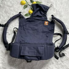 Baby Tula Solid Navy Blue Carrier With Hood Attachment