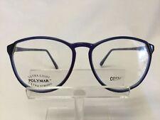 Vintage Cosmopolitan 470 Eyeglasses Sunglasses Blue Large Round