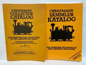 Christmann Collector Catalog LGB Train RARE FIND 1986-87  PRICE GUIDE BRAND NEW
