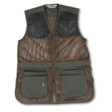 Bob Allen Sportswear 29M Shooting Vest-Full Mesh Dual Leather Pads-Sage-Size 2XL