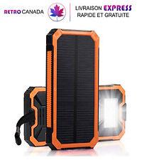 Chargeurs solaires Portable 15000mAh Double batterie externe USB Chargeur rapide