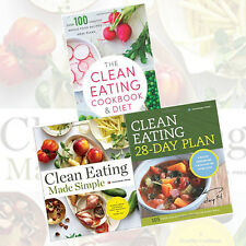 Rockridge Press 3 Books Collection Set (Clean Eating Made Simple) Brand New Pack