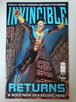 INVINCIBLE RETURNS #1 (2010) IMAGE COMICS 2ND PRINT VARIANT! KIRKMAN! MOVIE! NM