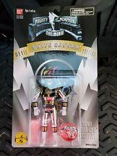 1995 Mighty Morphin Power Rangers - White Ranger Action Figure Movie Edition Nip