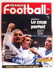 France Football du 11/11/1997; Marseille le coup Parfait/ Lens-Auxerre/ Angleter