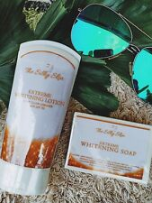 THE SILKY SKIN'S EXTREME WHITENING LOTION WITH SHIMMER SPF 70