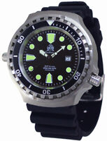 Tauchmeister men`s diver watch 1000m sapphire glass T0038