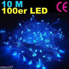 Guirlande Electrique Lumineuse 100 LED 10m Decoration Fete Noel BLEU