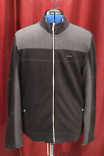 NWT Large Calvin Klein Dressy Refined Black Full Zip Jacket New L 40QK242