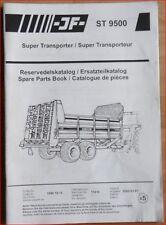 JF Dung- und Kompoststreuer ST 9500 Ersatzteilliste