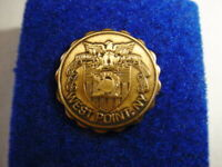 Vintage West Point Lapel Pin / Hat Pin Bronze